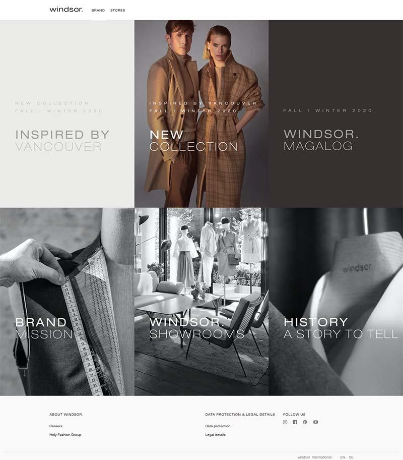 Windsor DE 德国品牌时尚女装购物网站