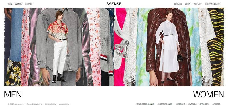 Ssense 加拿大品牌服饰海淘网站