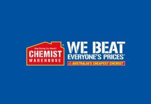 Chemist Warehouse  澳洲连锁药店品牌网站