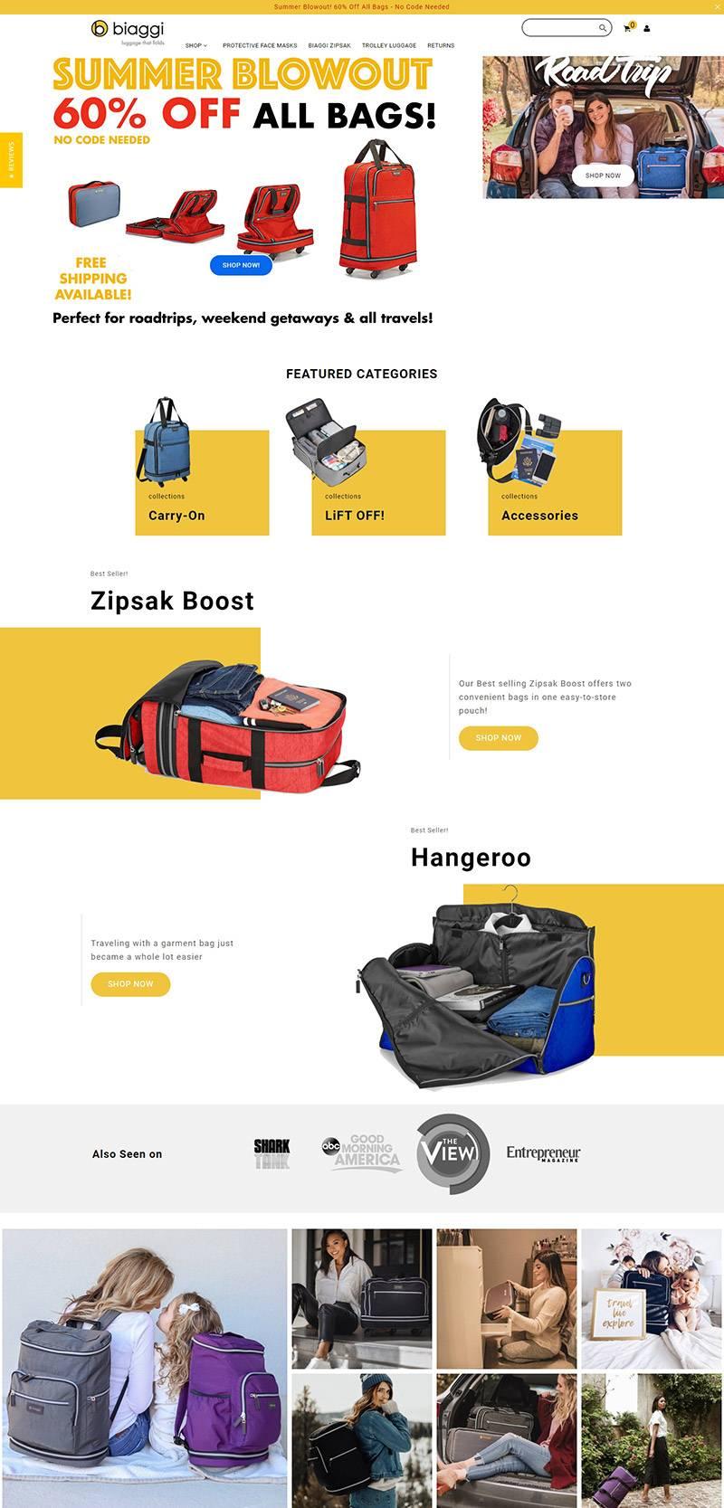Biaggi 美国品牌手袋包包海淘网站