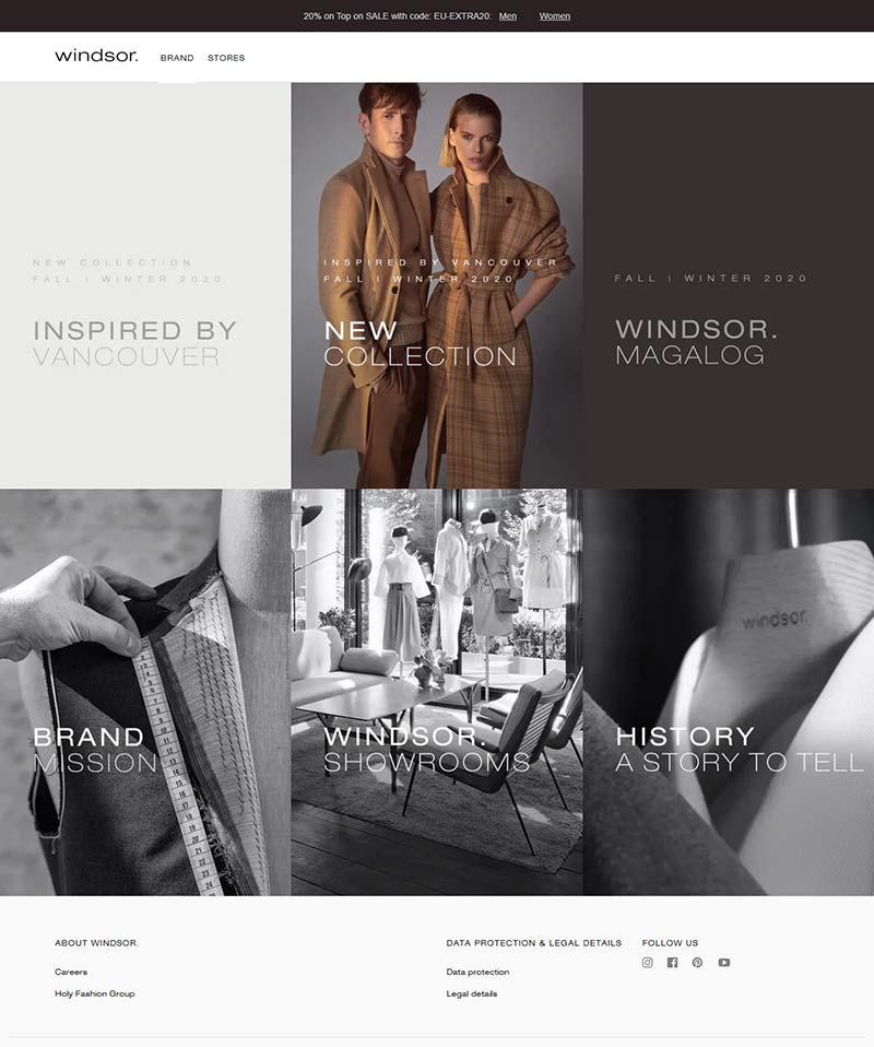 Windsor 德国温莎品牌女装购物网站