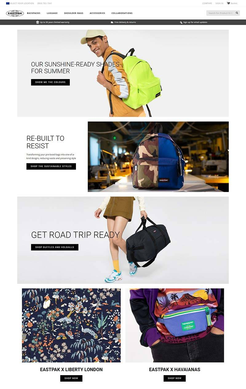 EASTPAK 依斯柏-美国专业包包品牌网站