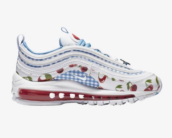Nike Air Max 97 蓝白 樱桃女大童运动鞋折后$135