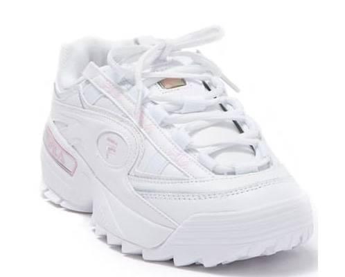 FILA斐乐 X D-Formation合作款老爹鞋 粉色44折$28.48
