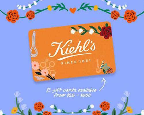 Kiehl's科颜氏美国官网母亲节大促无门槛8折促销满赠正装身体乳