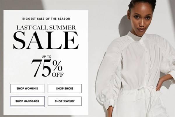 Neiman Marcus网站现有精选时尚单品低至25折促销,美境免邮