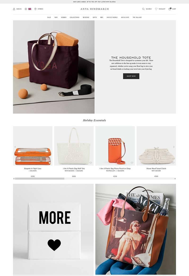 Anya Hindmarch 安雅·希德玛芝-英国设计师手袋品牌购物网站