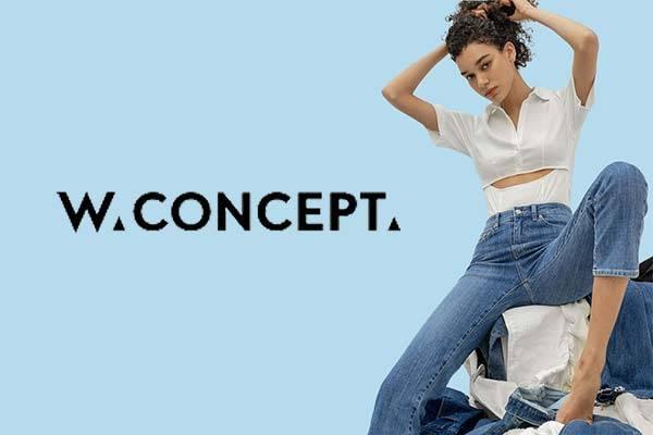 W Concept美国站精选牛仔裤额外9折促销,满额包邮